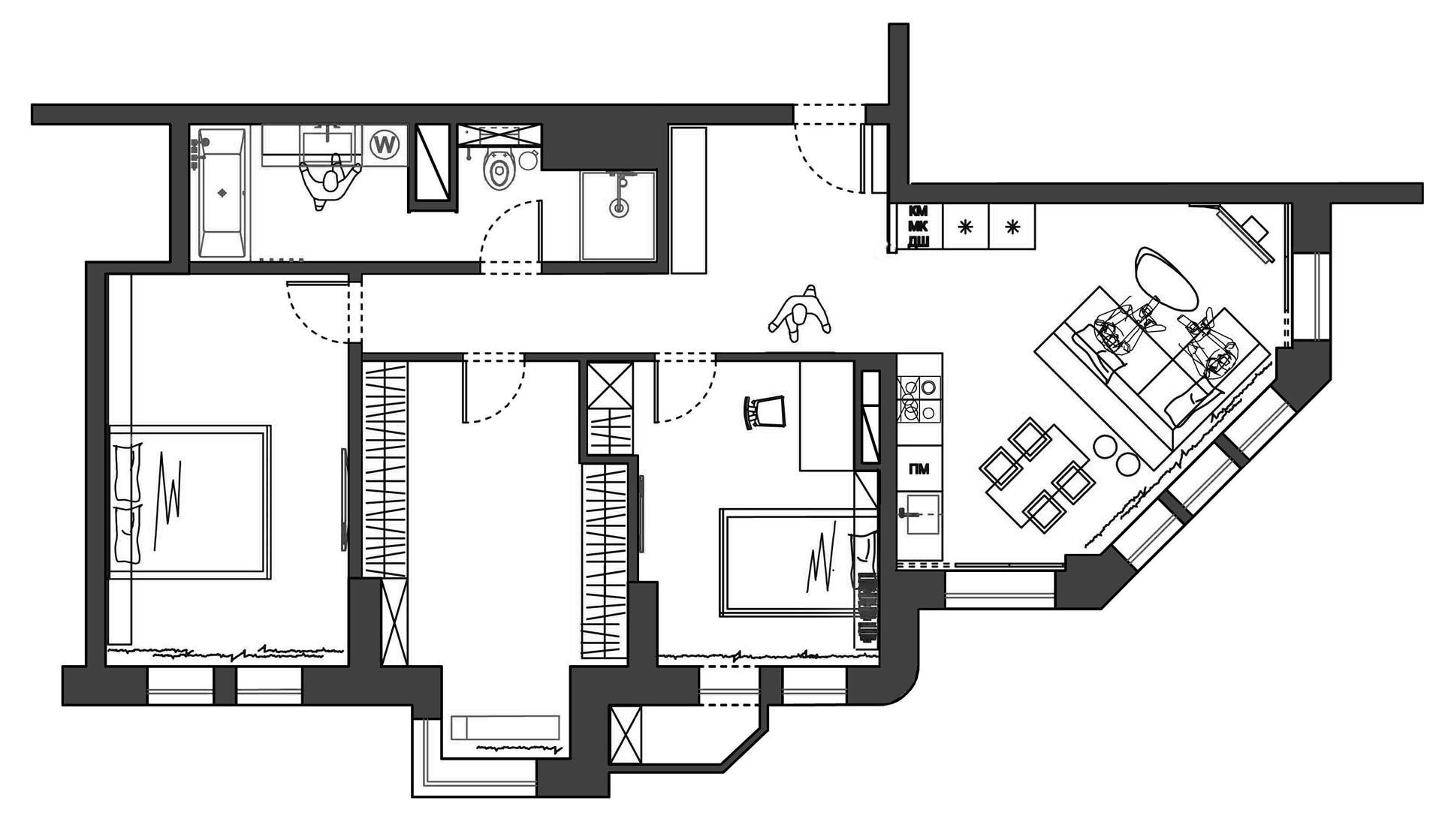Апартаменты ПАЗЛ 90