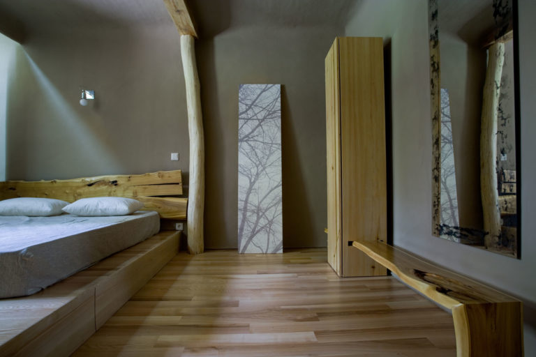 cupboard with bench Natural line