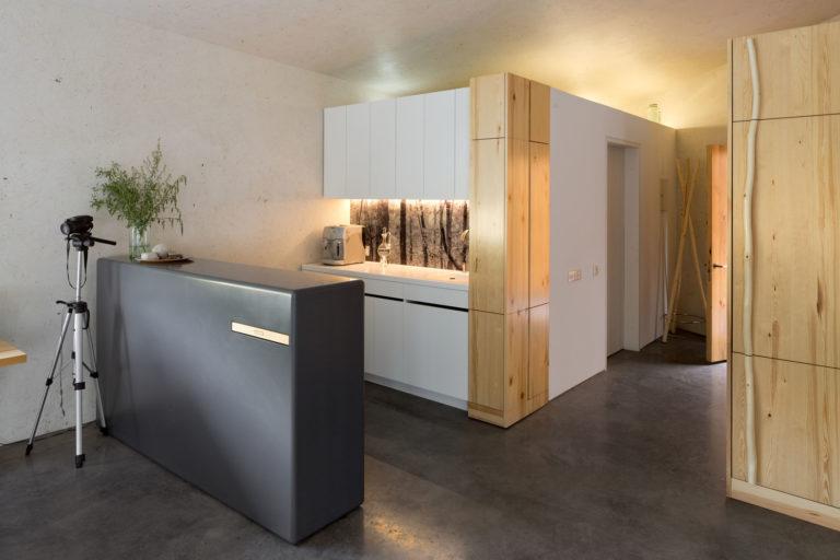 кухня Белый лес