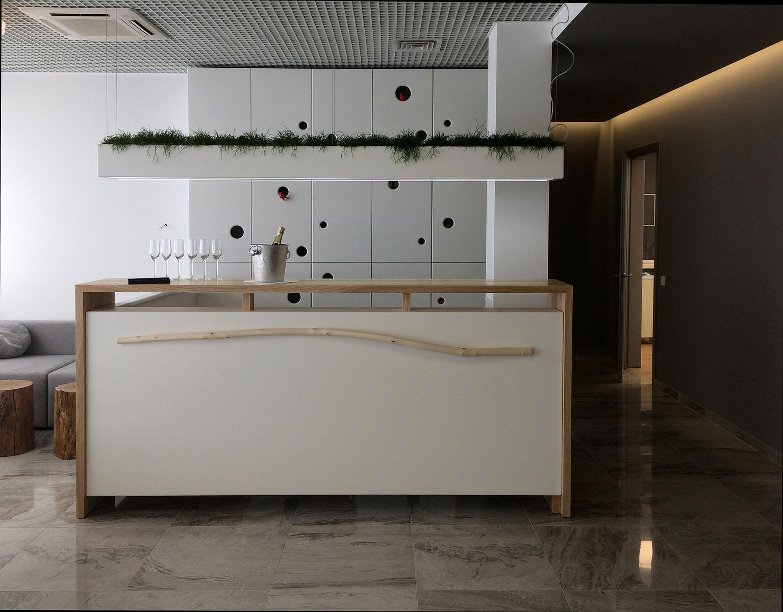 reception desk Silk
