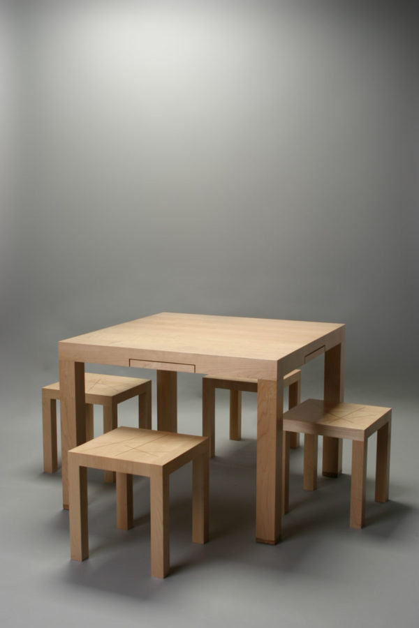 table with stools Combination XXX