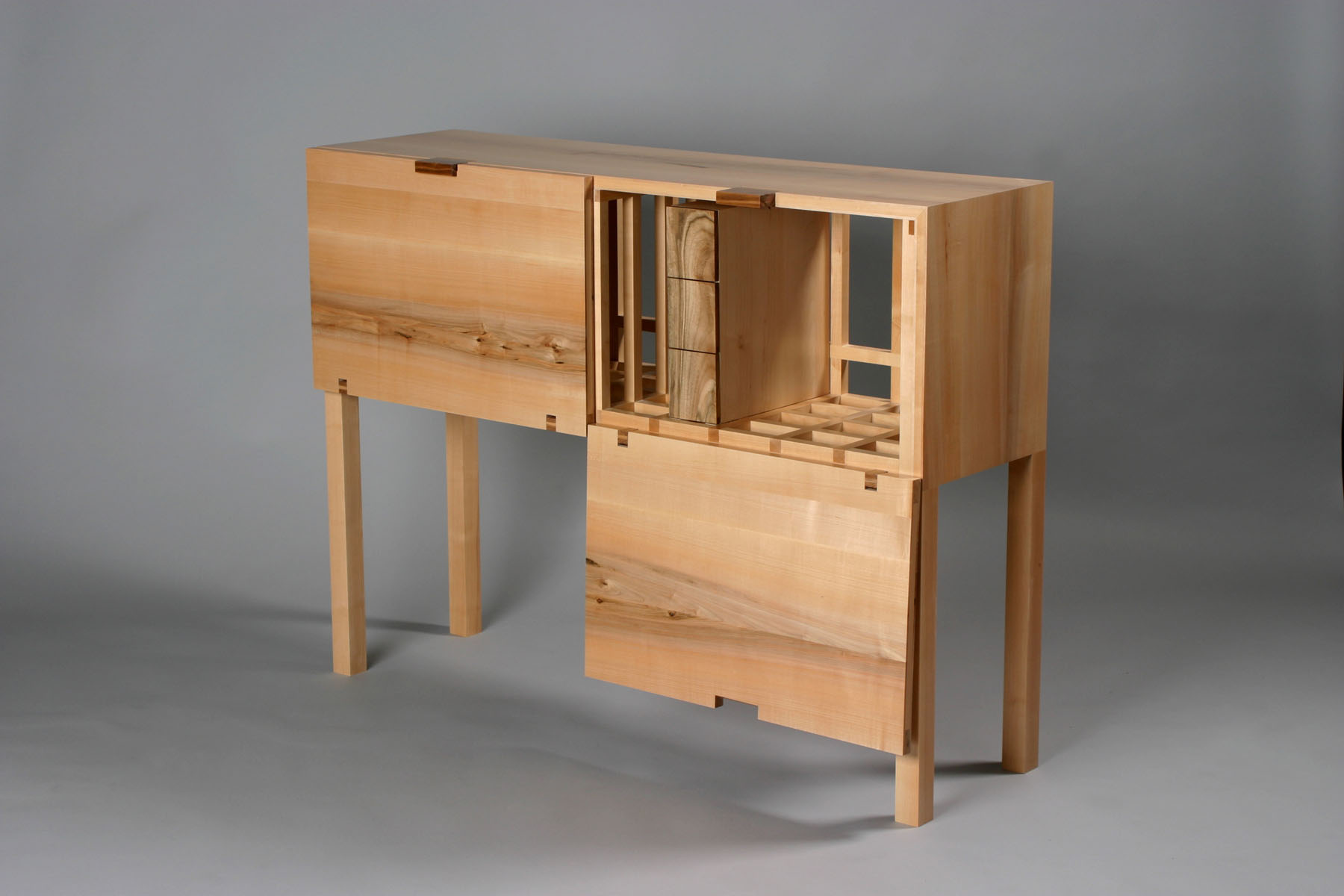sideboard with drawers combination 01