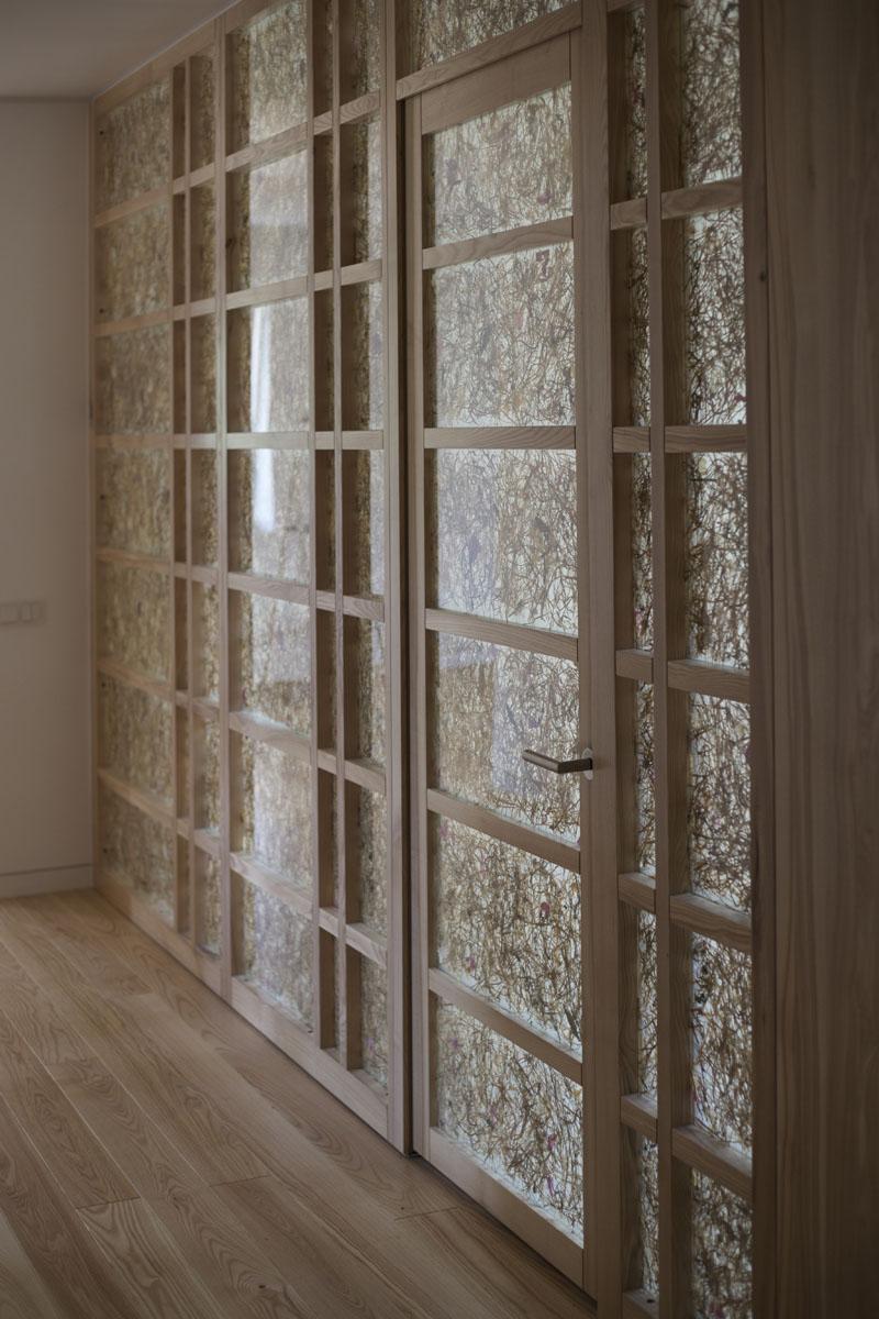 перегородки с дверными блоками