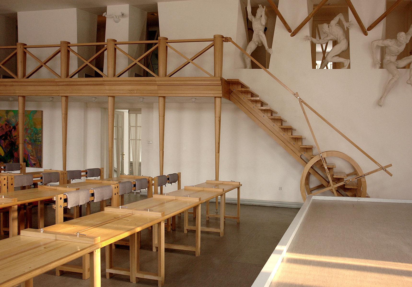 лестница арт-центр