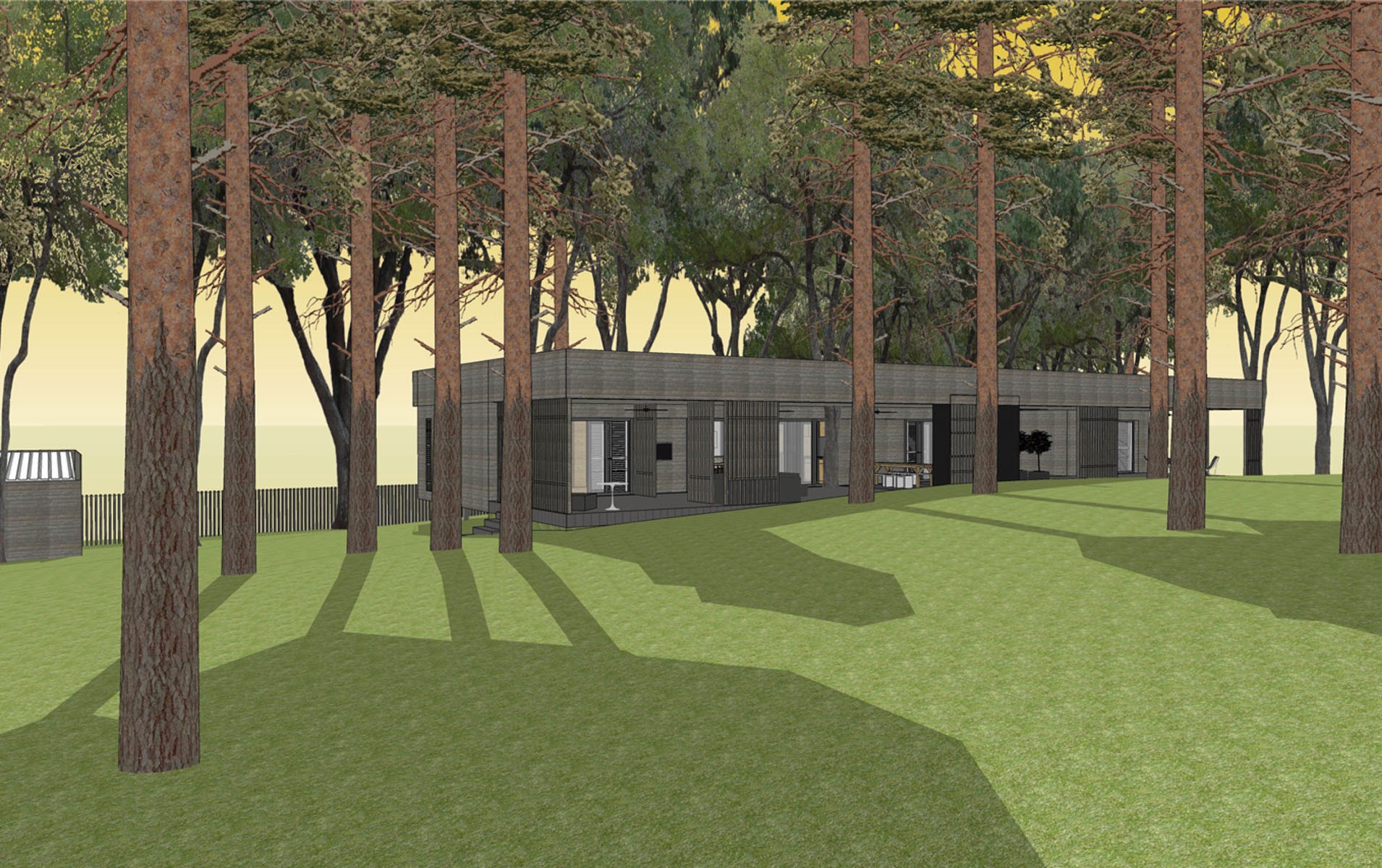 residencial housing House for Forester