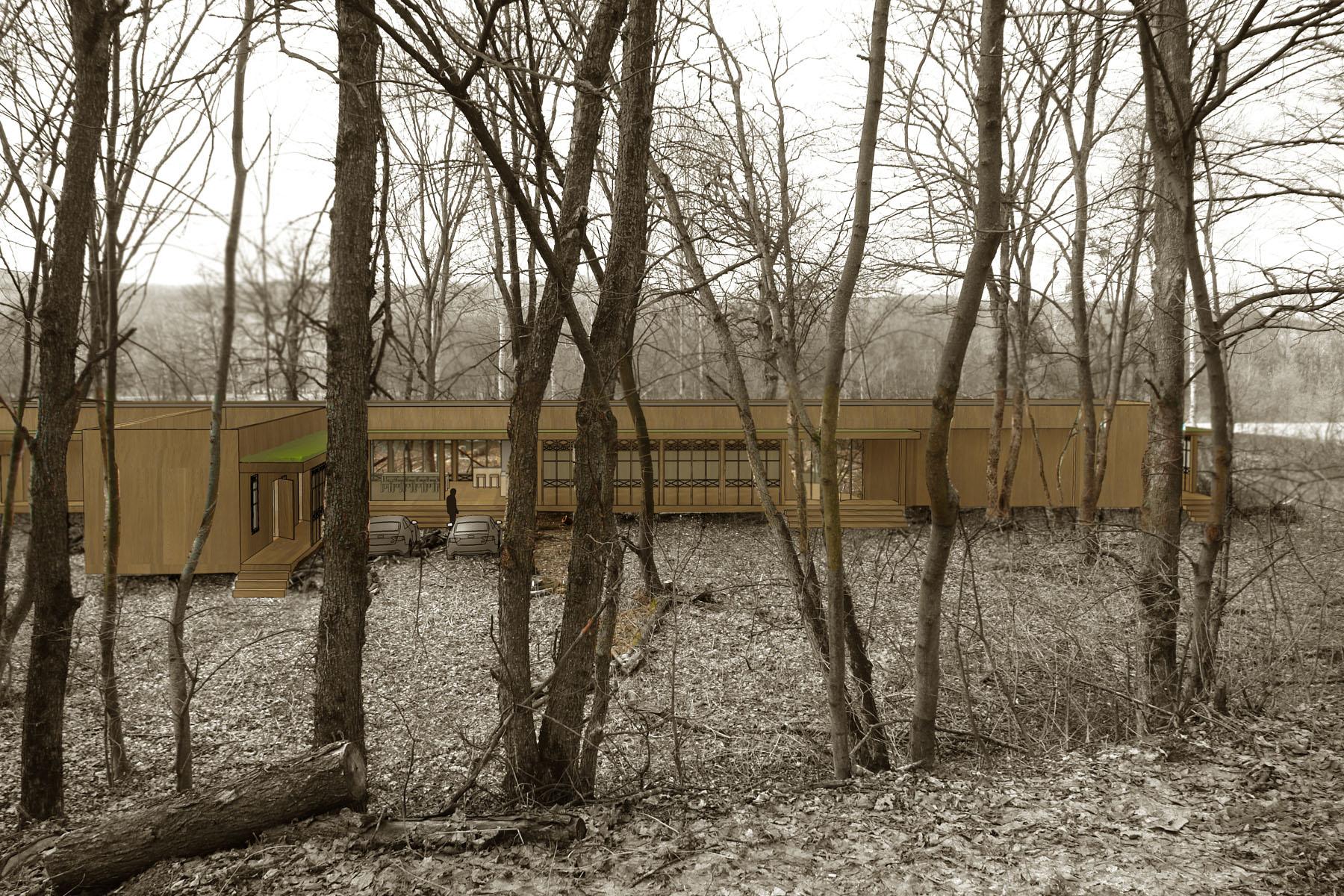 residencial housing River horizon