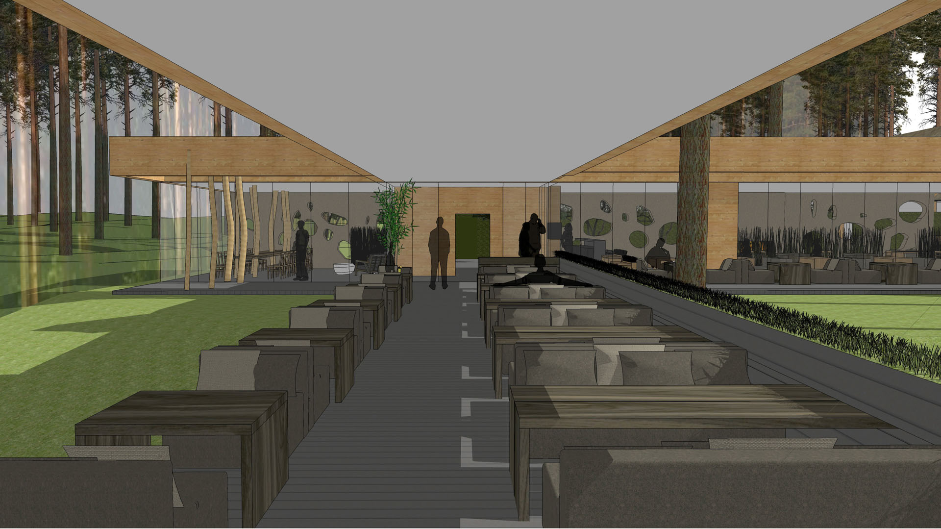 restaurant complex PEACE